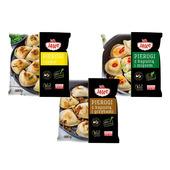 Pierogi Russkie / Sauerkraut-Pilzen / Sauerkraut-Fleisch