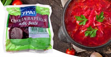 Ukrainischer Borschtsch - Gemüsesuppe mit Fleisch